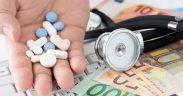 pastiglie soldi stetoscopio