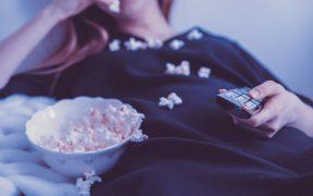 tv popcorn televisione