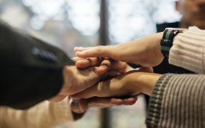 gruppo, aiuto, condivisione