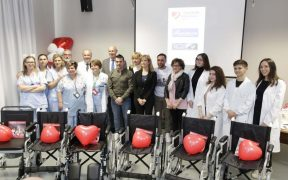 Niguarda, carrozzine donate in pediatria